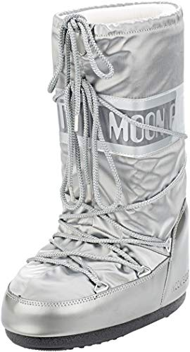 Moon Boot, Moon Boot Glance, Stivali, Donna, Argento 002, 27/30