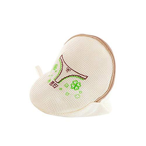 Fishyu Kleidung Wäsche Nylontasche Beutel Korb für Waschmaschine BH Unterwäsche Socke