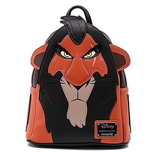 Loungefly Mini mochila cosplay The Lion King Scar, Multi, One Size