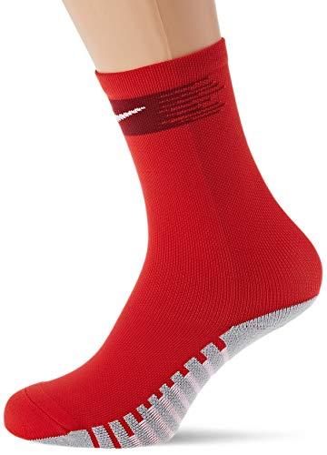 Nike Erwachsene Matchfit Crew Fußballstutzen, University Red/Team Red/White, L/EU 42-46
