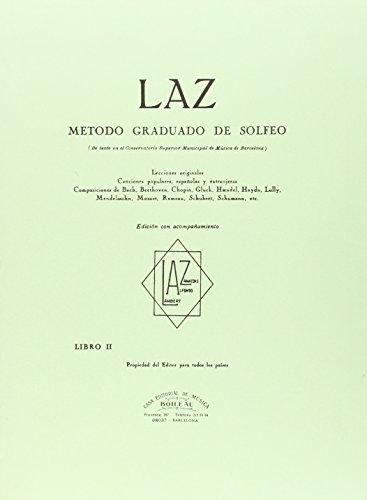 LAZ con acompañamiento - Libro II: Método graduado de Solfeo