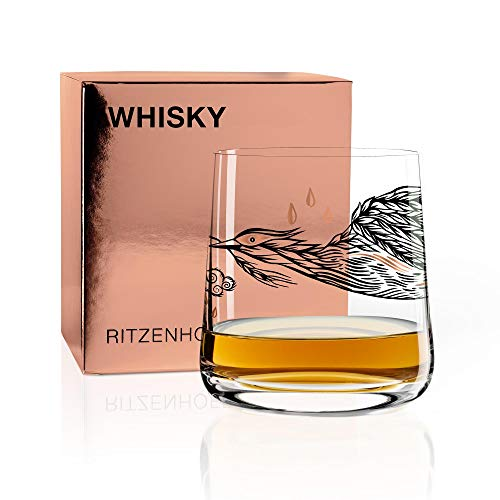 RITZENHOFF Next Whisky Whiskyglas von Olaf Hajek, aus Kristallglas, 250 ml