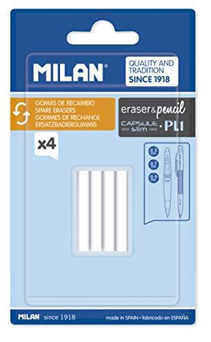 MILAN PL1 - Blíster con recambio para goma