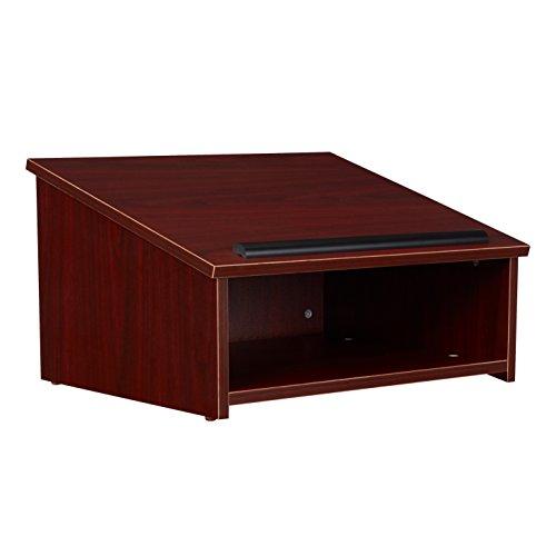 Oklahoma Sound 22-my Tisch Top Rednerpult, 23–3/10,2cm Breite x 13–3/10,2cm Höhe x 19–7/20,3cm Tiefe, Mahagoni