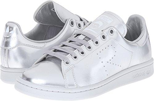 adidas by RAF Simons Unisex-Adult RAF Simons Stan Smith, Silver Met/Silver Met/Silver Met, UK 8.5 (US Men's 9, US Women's 10) Medium