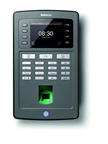 Safescan TA-8030 – tijdsregistratiesysteem: terminal met RFID-kaartlezer & vingerafdruksensor en software