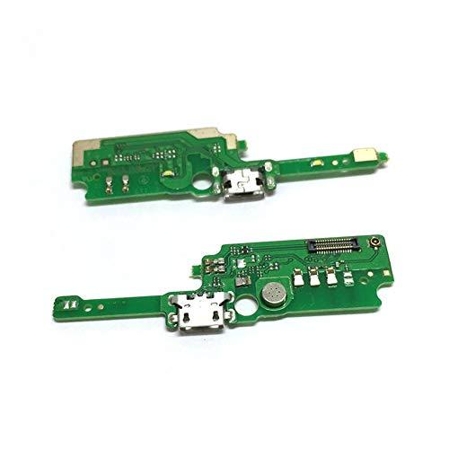 HDHUIXS Compatibilidad Puerto USB de Carga Junta Fit For Alcatel Shine Lite OT5080 5080U 5080 USB Base de Carga del Puerto Flex Piezas de reparación del Cable Profesional