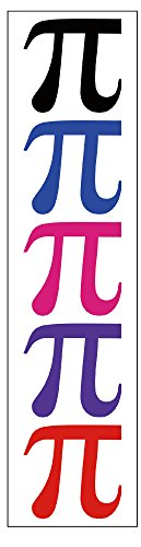 PremiumTT temporary tattoos Tatuajes de símbolos Pi de Primera Calidad, Recuerdo de Fiesta de matemáticas
