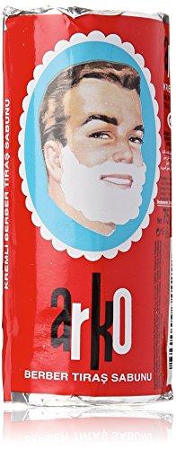 Arko Shaving Soap Stick, White, ( Pack Of 12 )