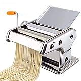 LaceDaisy Manuelle Machine à pâtes - Laminoir pour pâtes fraîches - Spaghetti Lasagne tagliatelle - Fettuccine Spaghetti à lasagnes Rouleau à Pâte Presse Cutter de Nouilles#2