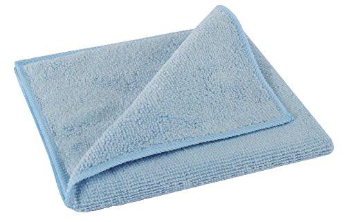 bellanet Microfaser Reinigungstücher | hohe Aufnahmefähigkeit von Staub und Schmutz | qualitative Mikrofasertücher für Haushalt, Küche, Bad | extrem saugstark und fusselfrei (blau)