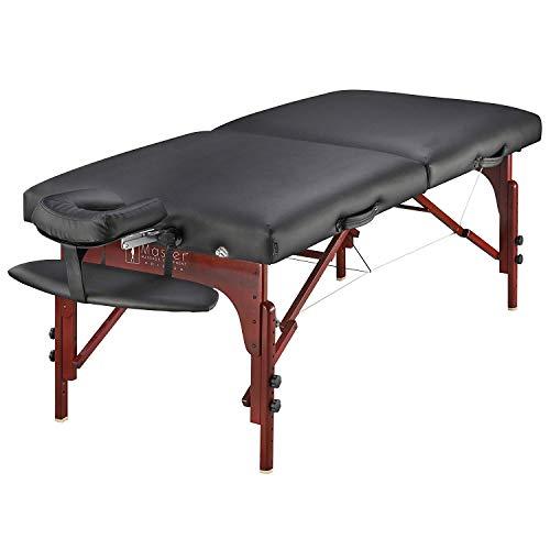 Master Massage Monclair Mobil Klappbar Massageliege 71cm Schwarz