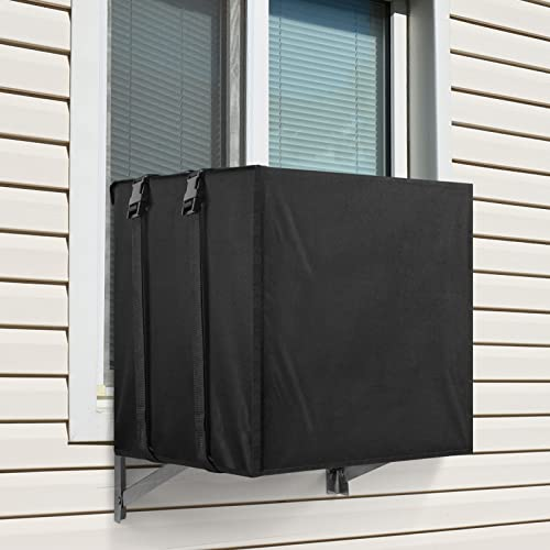 Sunolga Air Conditioner Covers for Window Units, Window Air Conditioner Cover with Water Resistant and Windproof Design - 21.5W x 15H x 16D Inches,...