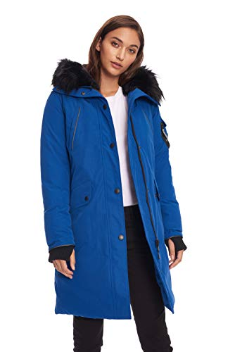 Alpine North Womens Vegan Down Long Parka Winter Jacket