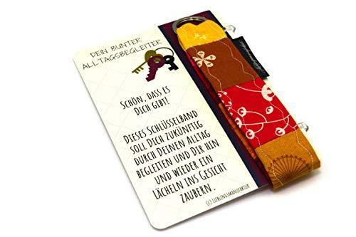 Danke an Freundin – Schön, dass es Dich gibt – Geschenk zur Freundschaft unter Freundinnen – persönliche Geschenkidee aus Karte und Schlüsselanhänger, die ein Lächeln ins Gesicht zaubert