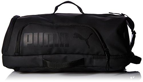 PUMA Men's Protocol Hybrid Duffel Bags, Black, One Size