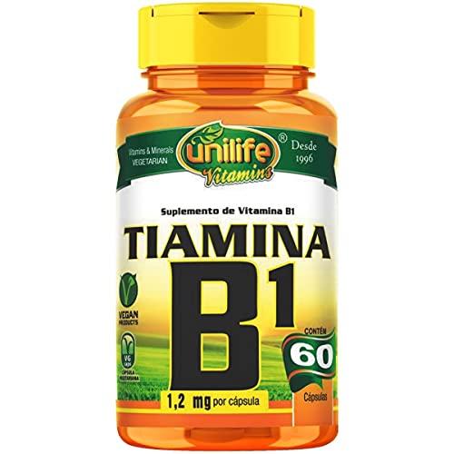 Vitamina B1 Tiamina 60 cápsulas Unilife