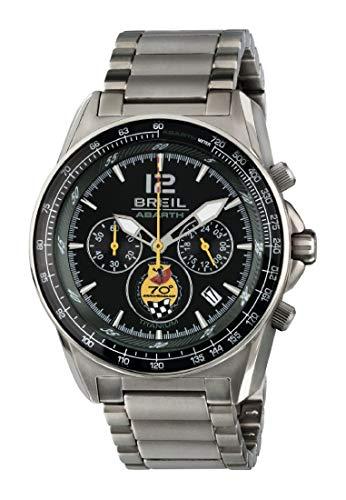 BREIL Orologio Uomo Cronografo al Quarzo Completamente in Titanio TW1831
