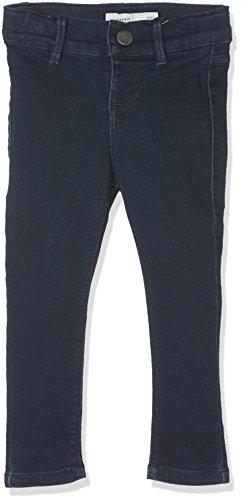 Name It Nittera Skinny DNM Pant NMT Noos Jeans, Gris (Dark Blue Denim), 98 Bébé Fille