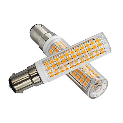 7W B15D LED Dimmbar Warmweiß 3000K B15D 100W Halogen Glühlampe Ersatz B15D 230V Super Hell Leuchtmittel, 1er Pack [MEHRWEG]