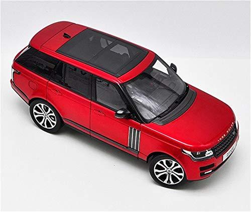 DSWS Aleación presión fundición Coche Modelo Kit 1:18 para Rover Static Mini Car Scale Simulación Modelo De Coche Colección De Pasatiempos Regalos para Adultos Juegos Deportivos Al Aire Libre