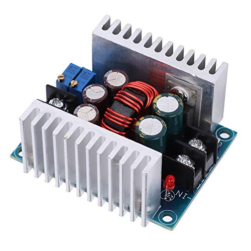 Voltage Regulator, With High Thermal Conductivity Aluminum Substrate 300W 20A 6-40VDC Input Power Supply Module, for Solar Panels Wind Generators
