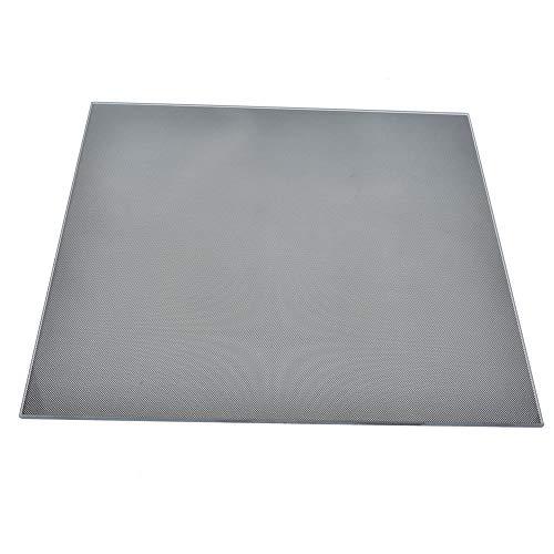 Plataforma de impresora de alta calidad, piezas de impresora, cristal de carbono práctico Impresión de vidrio de silicona Vidrio recubierto de vidrio sin pegamento para impresora Piezas de