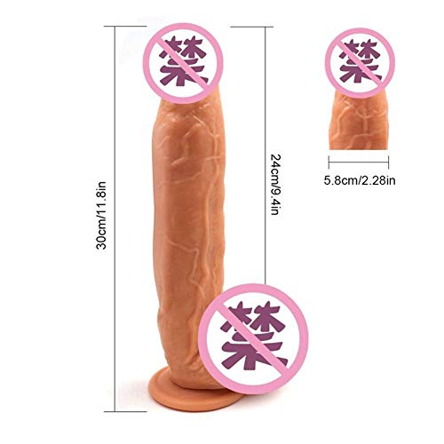 Supraman Alien vrouwelijke masturbatie Super Grote Simulation Dildo Dildo Erotic Sex Supplies ZHQHYQHHX (Color : Black)