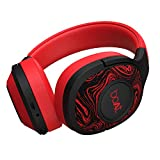 boAt Rockerz 550 Over-Ear Wireless Headphone with Ergonomic Aesthetics, Plush Padded Earcups, Immersive Audio, Bluetooth v5.0 & Upto 20H Playback(Red)