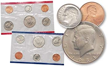 1984 P, D United States Mint Uncirculated Coin Set Uncirculated