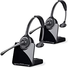 Plantronics CS510 - Over-The-Head monaural Wireless Headset System ? DECT 6.0 (2 Pack)