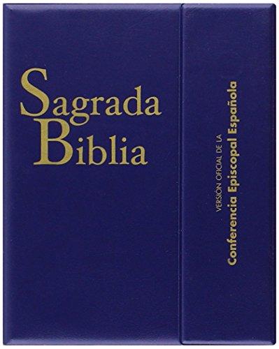 Sagrada Biblia (ed. bolsillo - con estuche): Versión oficial de la Conferencia Episcopal Española: 113 (EDICIONES BÍBLICAS), 10 x 13 cm