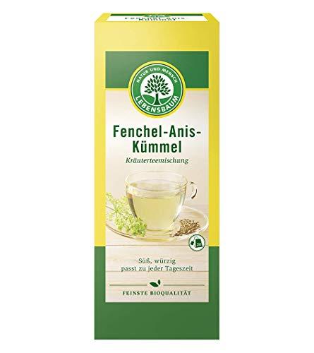 Lebensbaum Kräutertee Im Teebeutel - Fenchel-Anis-Kümmel, 50 g