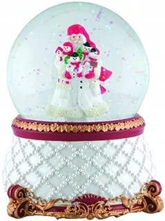 Pipka 7121102 Pipka Snowman Santa Musical Waterglobe