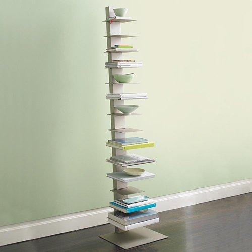 Bücherregal Sapiens H.152 cm (10 Regale) Weiss