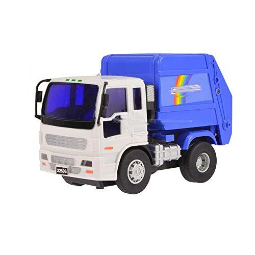 Xolye Kleine Trägheit nach vorne ohne Batterie Junge Spielzeug Auto Stadt Müllsammlung Saubere Transportfahrzeug Spielzeug Simulation Engineering Fahrzeug Modell