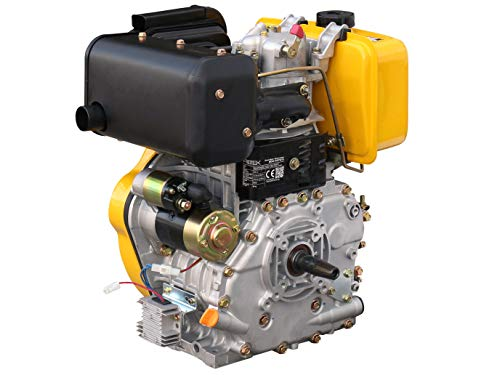 Rotek luftgekühlter 1-Zylinder 4-Takt 474ccm Dieselmotor, ED4-0474-5HE-FG2A