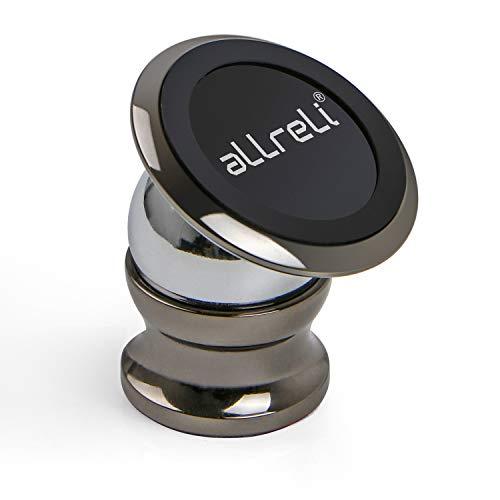 aLLreli Handyhalterung Auto Magnet, 360° Verstellbare Magnetische Handyhalter, Universal Handy Halter, KFZ Armaturenbrett Halterung Kompatibel mit Smartphone/iPhone/Samsung/Huawei/Xiaomi/OnePlus usw.