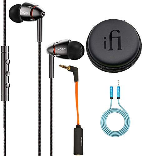 1MORE E1010 - Auriculares de Diadema con Cable de atenuador...