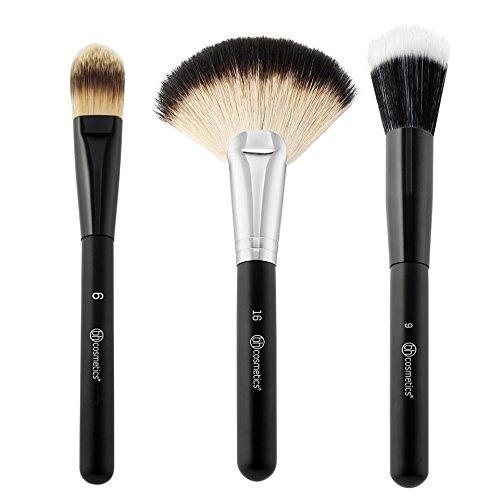 Pinceaux Blending Face Trio – 3 pièces