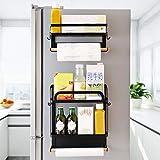 henan Shelf- Scaffale magnetico laterale per frigorifero multifunzione