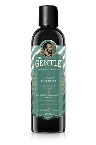 #1 | MR. GENTLE – Champú Anticaspa, Antigrasa – 400 ML