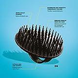 Denman Shampoo- und Teppichbürste D6, aus hochwertigem Kunststoff, schwarz - 5