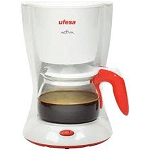 Ufesa CG7213 - Cafetera de Goteo, 600 W, 6 tazas, 0.65L, Filtro permanente