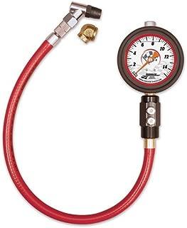 Longacre Racing 52032 Liquid-Filled Deluxe Tire Pressure Gauge