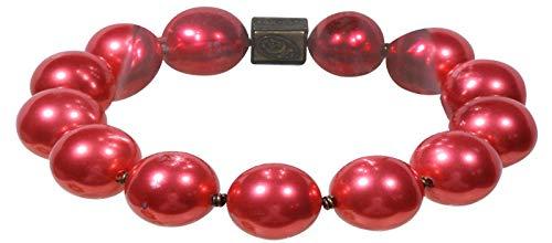 Konplott Armband Salsa Invernal rot-Brass