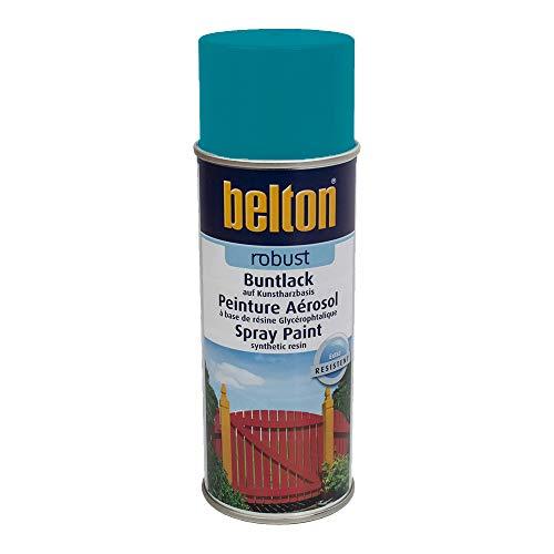 Unbekannt Kwasny Belton Robust Buntlack Lackspray Lack Spray Spraylack Karibikgruen Hochglanz 400 ml