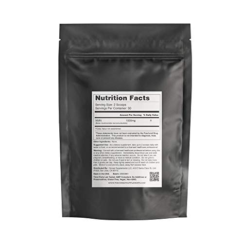 41UwtiFnNuL - Premium NMN Powder, Third Party Tested, 99.8% Pure, Made in USA, Stabilized, 30 Grams, Naturally Boost NAD+ Levels, Nicotinamide Mononucleotide Supplement, Anti-Aging