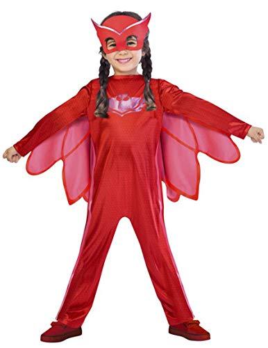 Generique - Disfraz PJ Masks Buhta para nia - 7-8 aos (122-128 cm)
