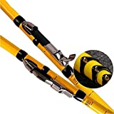 Small Lake Fishing rod Carbon 4.5m 5.4m 6.3m 7.2m Telescopic Spinning Angelrute Köder Gewicht 3-50g...